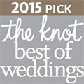 2015 The Knot Award for Best of Weddings