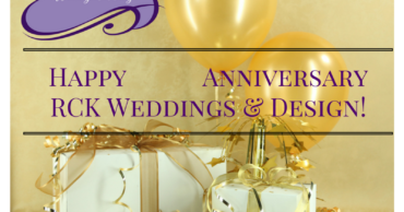 Happy 10th Anniversary RCK Weddings!!